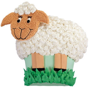 Sweet Lamb Cake for Spring