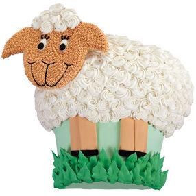 Smiling Sheep Cake