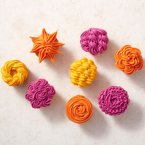 Bright and Bold Cupcakes