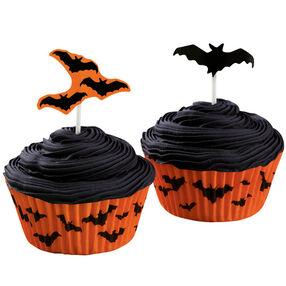 Bevies of Bats! Cupcakes