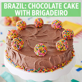 Kids' Brazilian Chocolate Cake Class