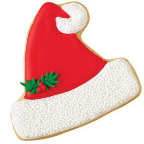 Jolly Santa Hat Cookie