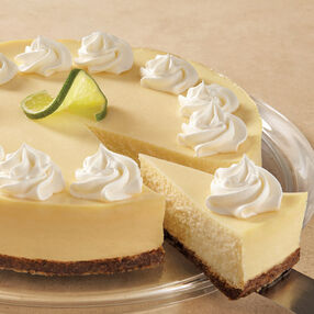 Creamy Lime Cheesecake