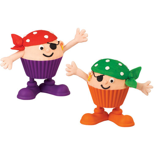 Birthday Buccaneers Cupcakes