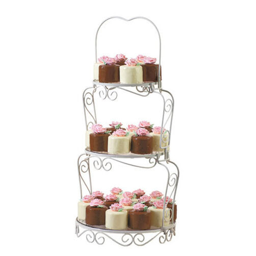 Petaled Petit Fours Mini Cakes