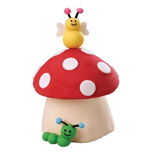 Fungus Friends Mini Cake