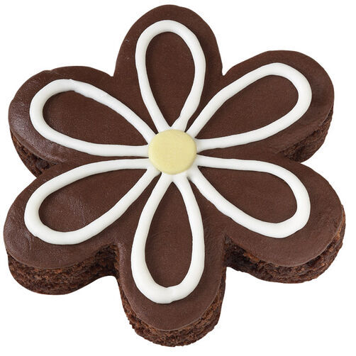 An Open Flower Brownies