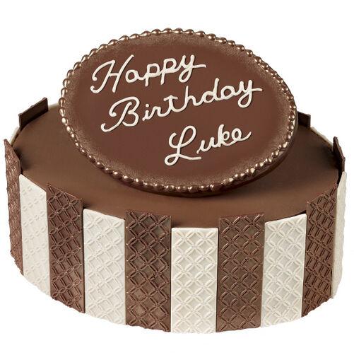 Birthday in Bronze Cake