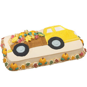 Bring Home The Harvest Hayride Cake