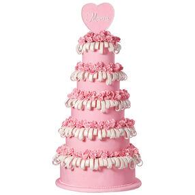 La Quinceañera Sweet Pea Tower Cake