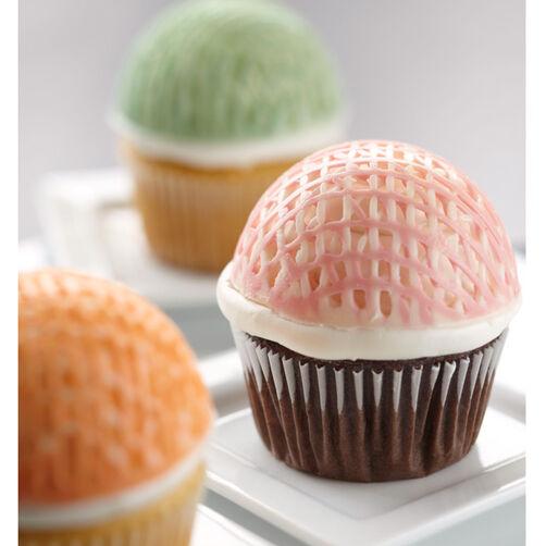 lattice cup cupcakes