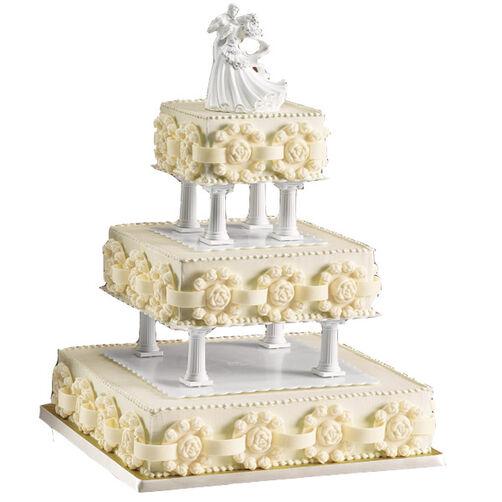 Linked in Love Cake