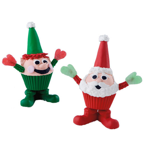 The Santa Squad Cupcakes