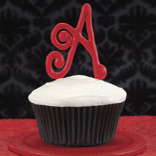 Delish Initial Cupcakes