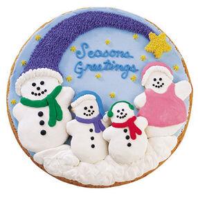 Caroling Family Cookies