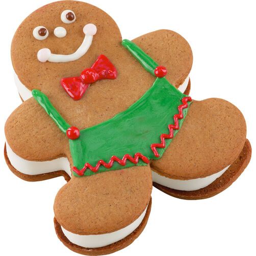 He's A Cool Fellow! Gingerbread Ice Cream Man