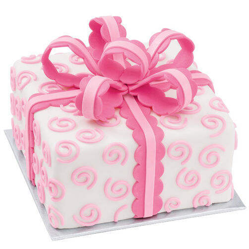 Swirls Unfurled Cake