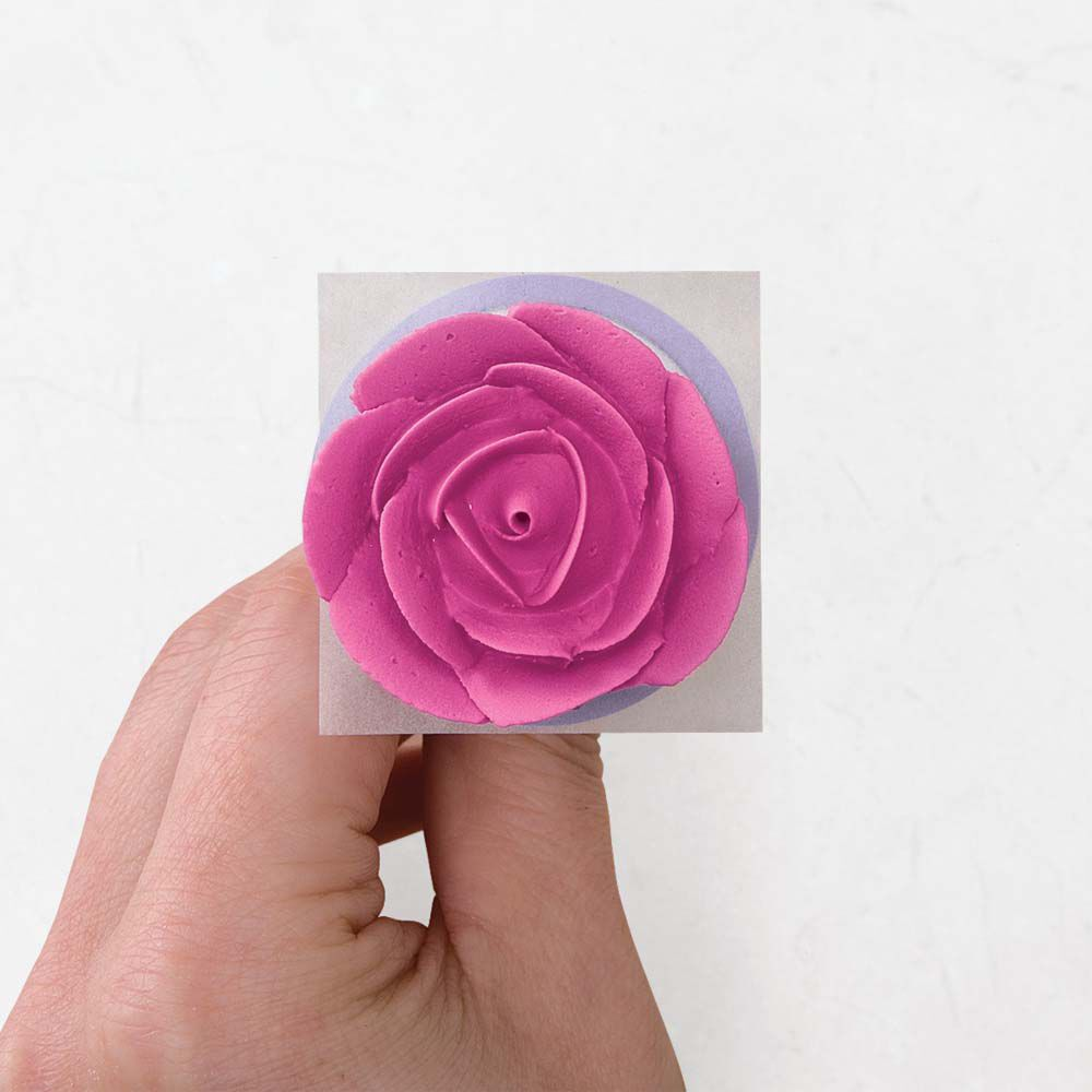 How to Make Icing Roses Wilton