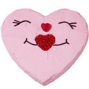 Sweet Smiles Heart Cake