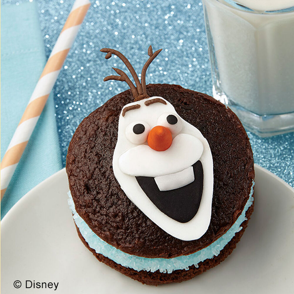 Olaf The Snowman Whoopie Pies Wilton