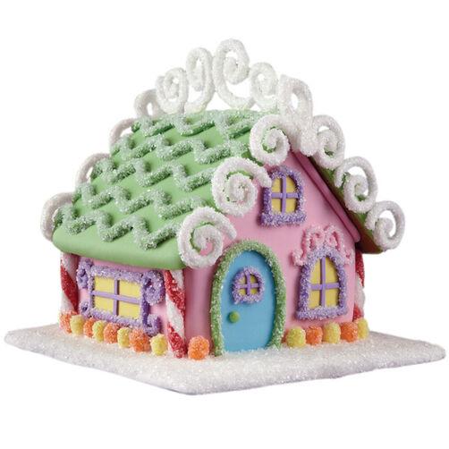 Glittering Getaway Gingerbread House