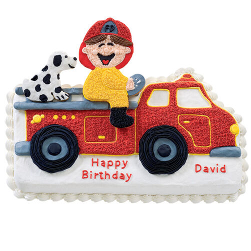 Junior Firefighter Cake Wilton