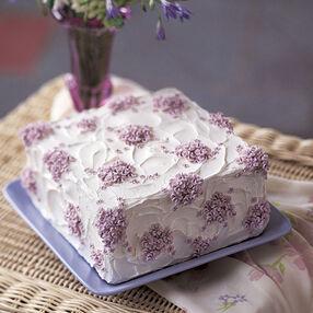 Violet Cascade Cake