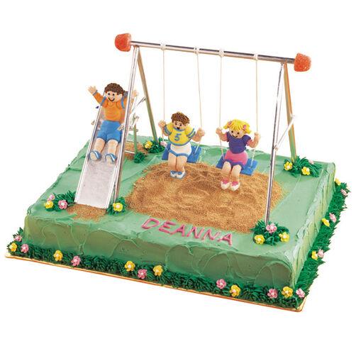 The Swing Set Cake