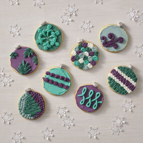 Ornament Cookies So Many Ways