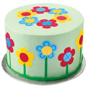 Flower-Powered Cake