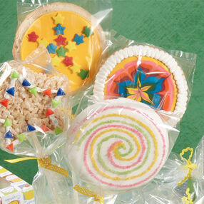 Kaleidoscope Cookie Pops