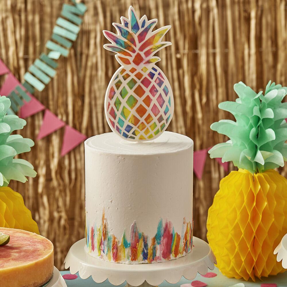 Vibrant Pineapple Cake | Wilton