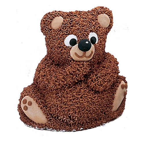 Download Teddy Bear With Cake Images : Teddy Bear Mini Cake Wilton