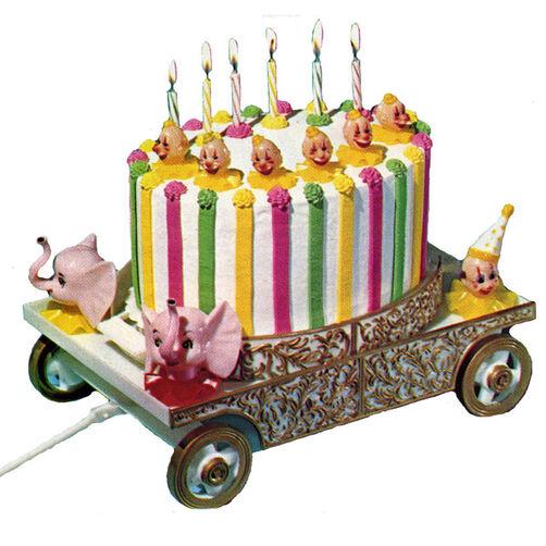 Circus Wagon Cake
