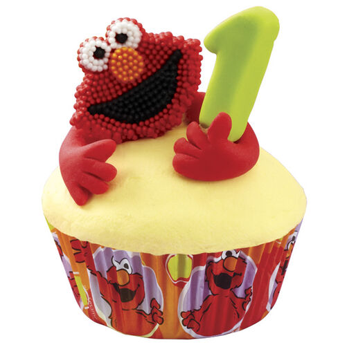 Little Ones Love Elmo! Cupcakes