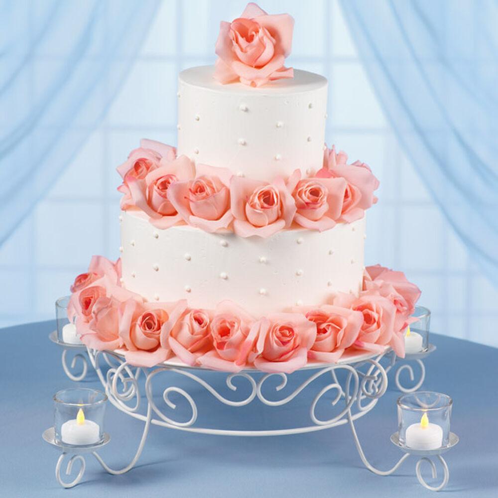 garden lights wedding cake wilton. Black Bedroom Furniture Sets. Home Design Ideas