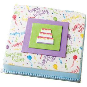 A Caketop Canvas Cake