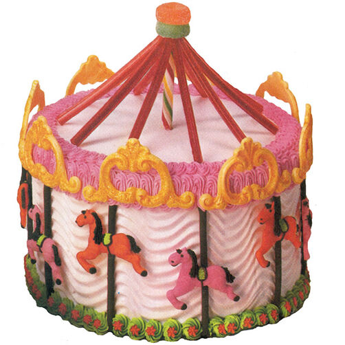 Enchanted Carousel Cake