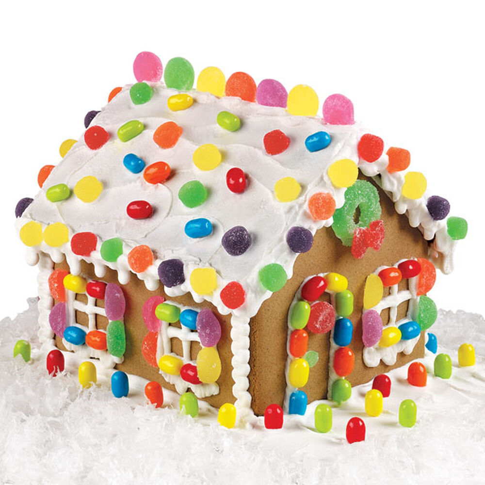 Premade Gingerbread Houses Pre Baked And Pre Assembled Gingerbread House Kit Wilton