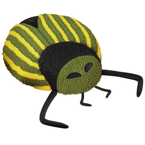 Pinstriped Pest Bug Cake