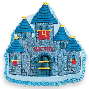 Prepare for Knighthood Castle Cake