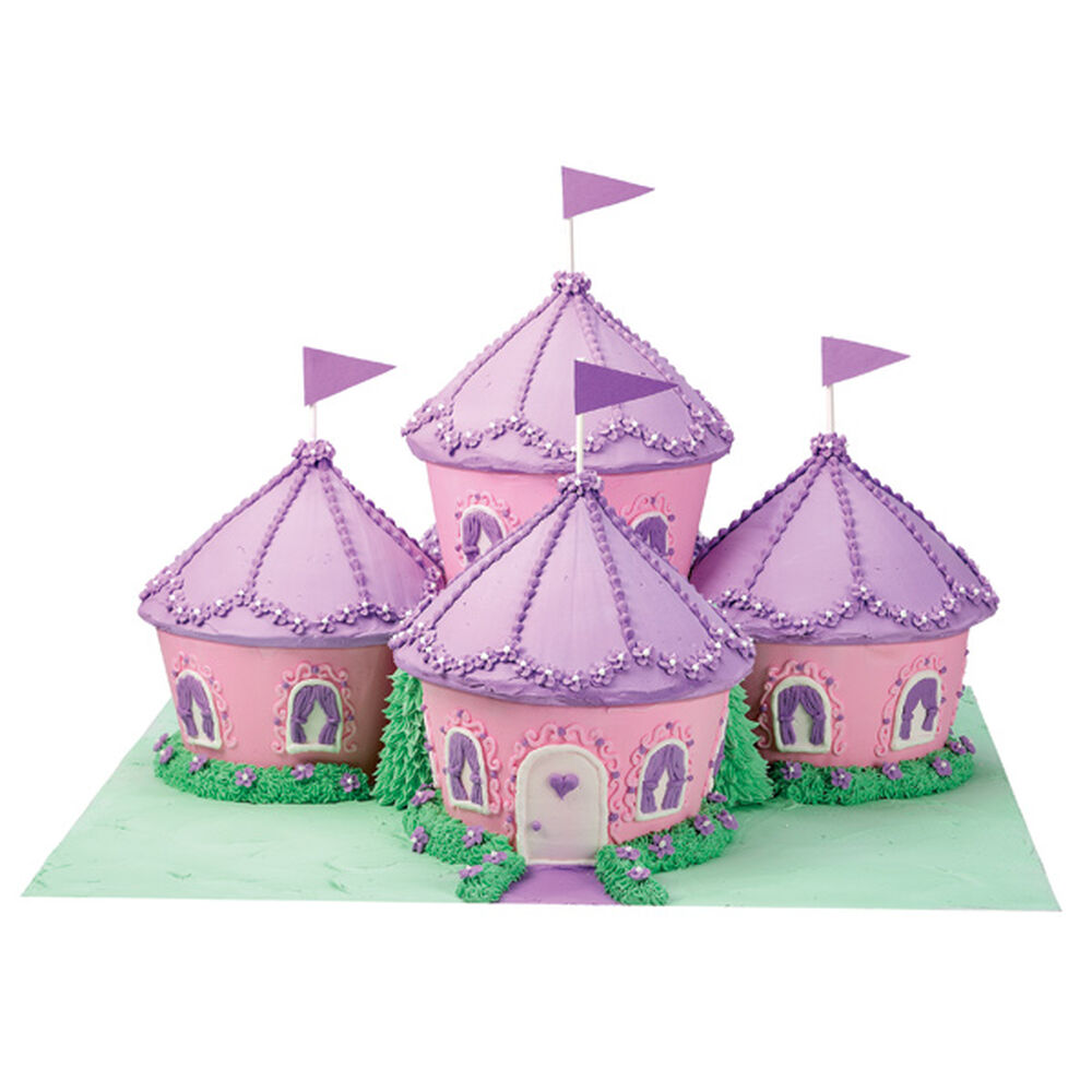 cupcake kingdom castle cake | wilton
