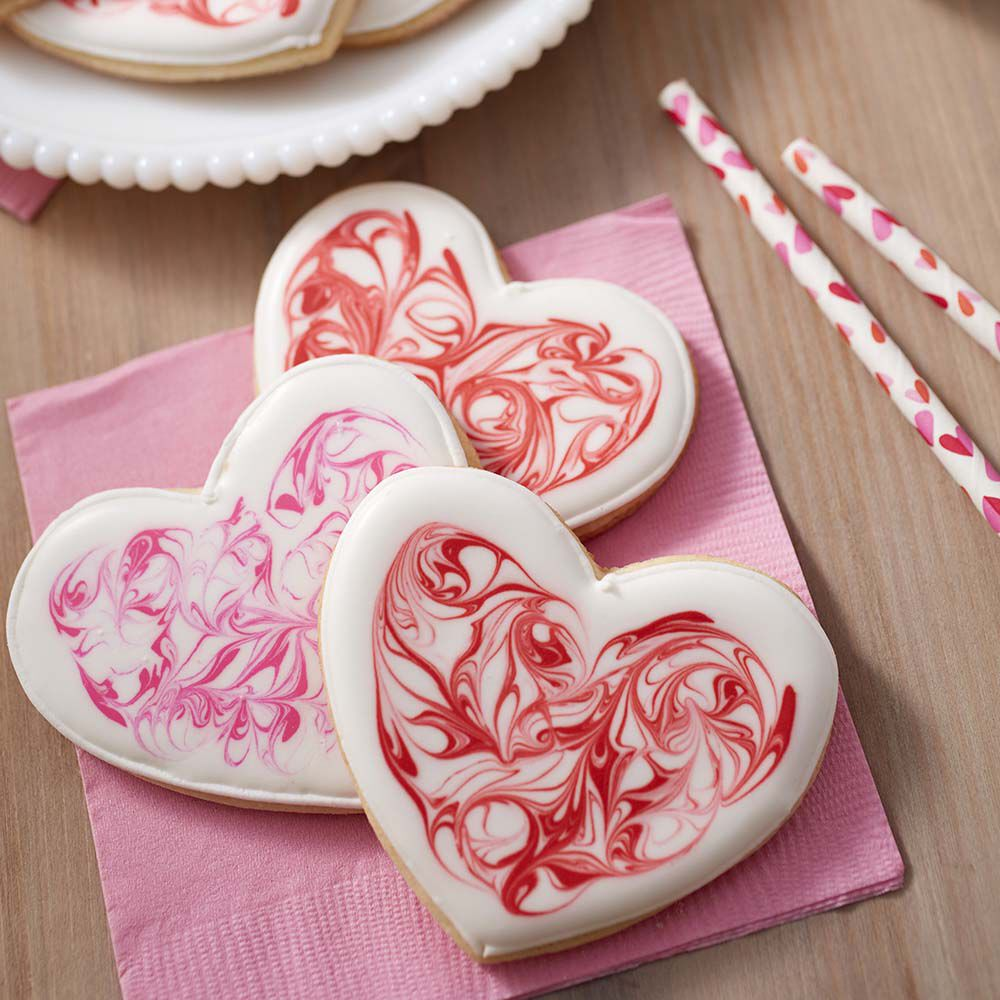 Heart Cut Out Cookies Wilton