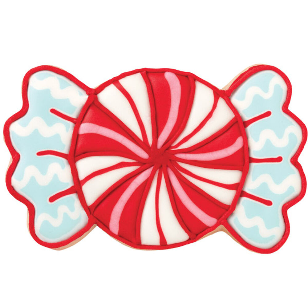 Wrapped Candy Swirl Cookie Wilton