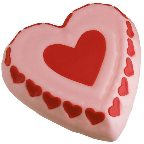 Hearts A'Poppin Cake