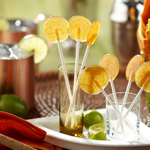 Moscow Mule Lollipops