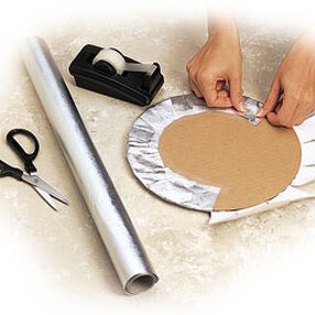 Covering Cake Board with Fanci-Foil