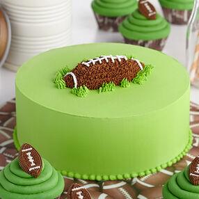 Mighty Mini Football Cupcakes Wilton