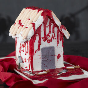 Adult Halloween Gingerbread House