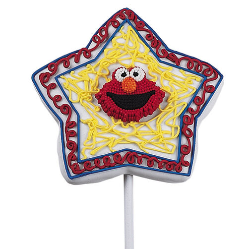 Elmo's Star Treatment Cookie Pops